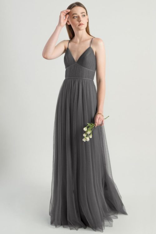 Ali Bridesmaids Dress by Jenny Yoo - Shadow Grey