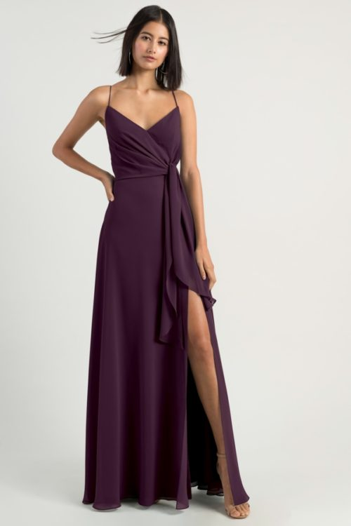 Amara Bridesmaids Dress by Jenny Yoo - Black Current
