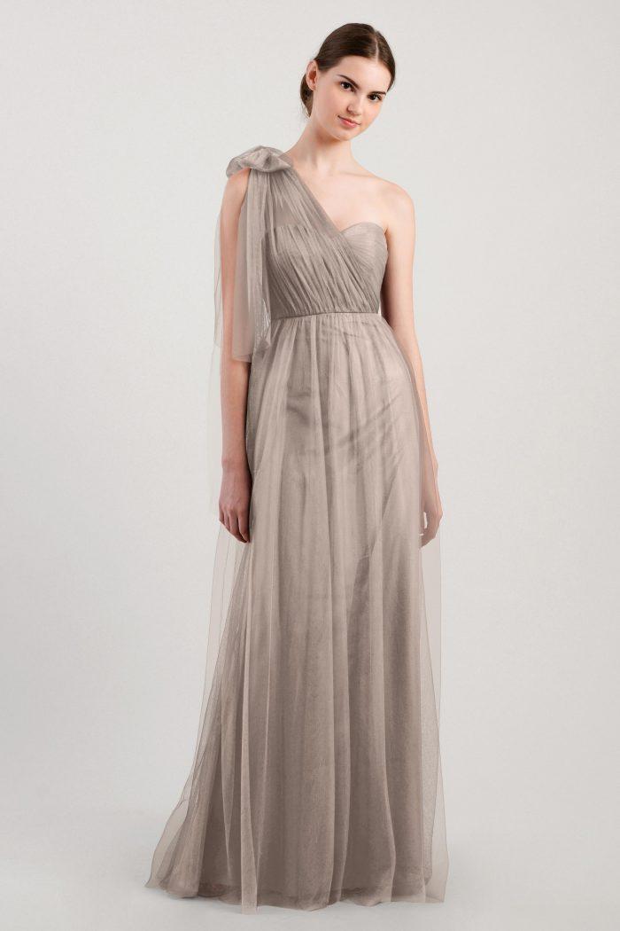 Annabelle Bridesmaids Dress by Jenny Yoo - Mink Grey
