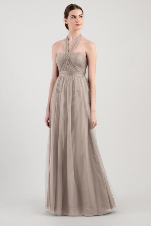 Annabelle Bridesmaids Dress by Jenny Yoo - Mink Grey