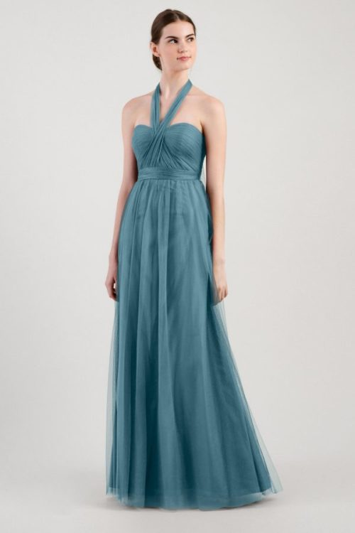 Annabelle Bridesmaids Dress by Jenny Yoo - Vintage Teal