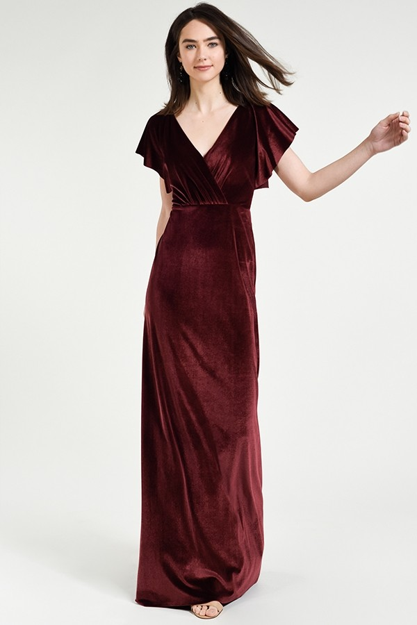 Ellis Bridesmaids Dress by Jenny Yoo - Dark Berry