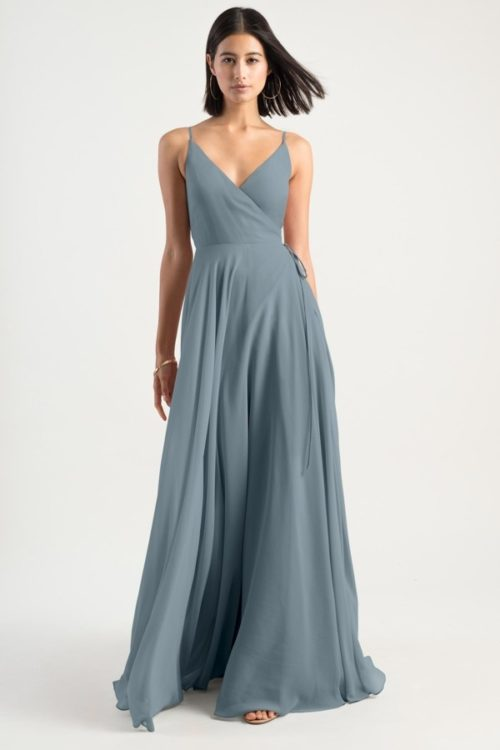 Mayan Blue James Jenny Yoo Bridesmaids Dress