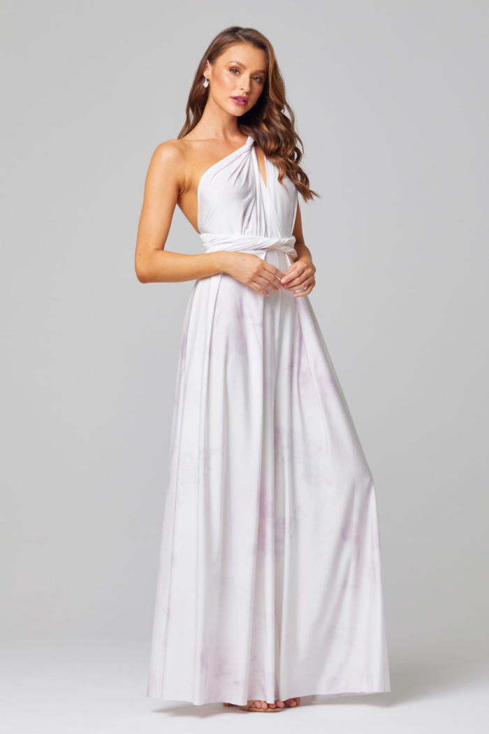 Infinity Wrap Bridesmaids Dress By Tania Olsen - Floral
