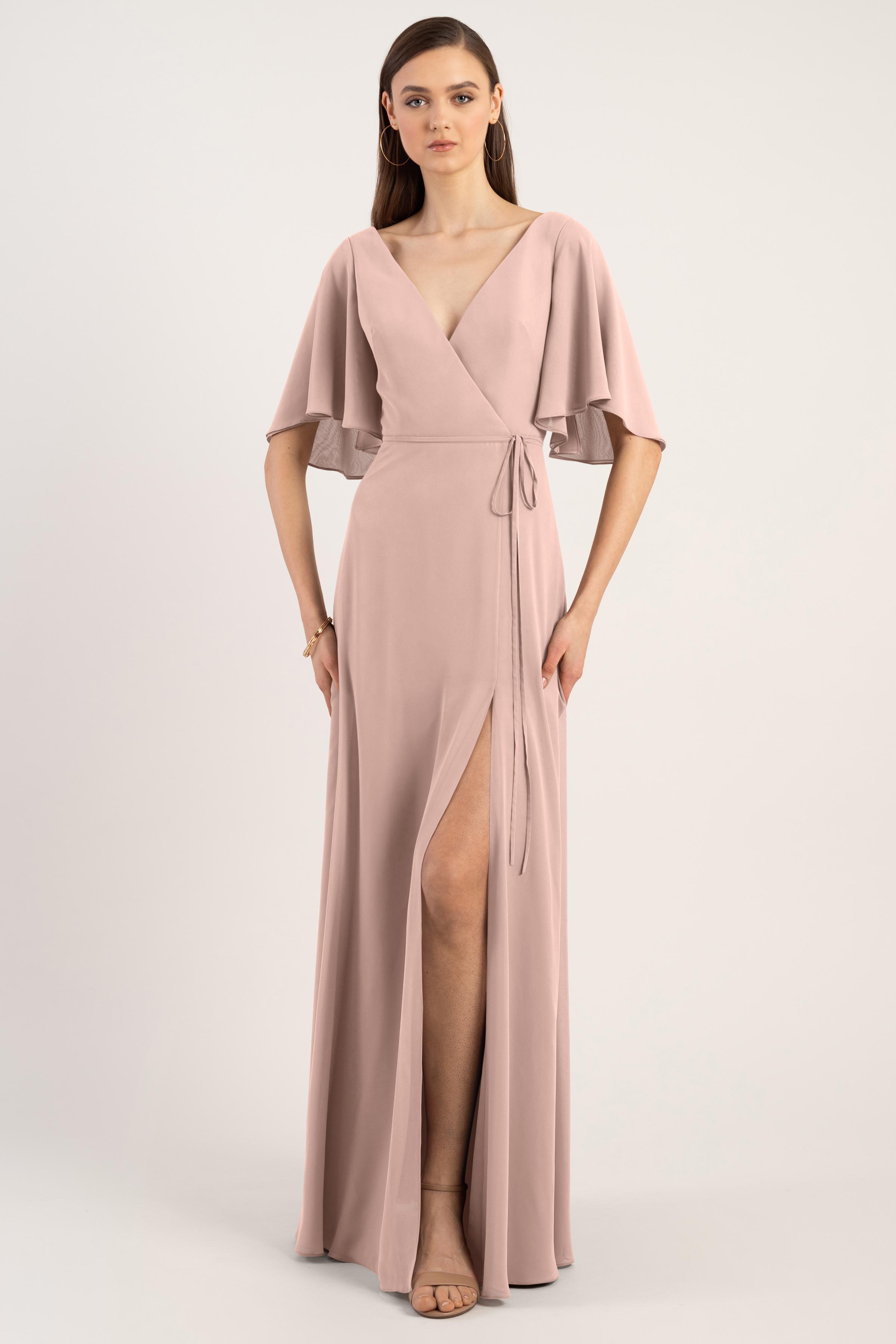 Ari Bridesmaids Dress by Jenny Yoo - Whipped Apricot