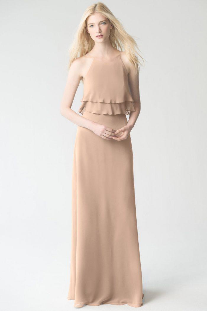 Charlie Bridesmaids Dress by Jenny Yoo - Desert Rose
