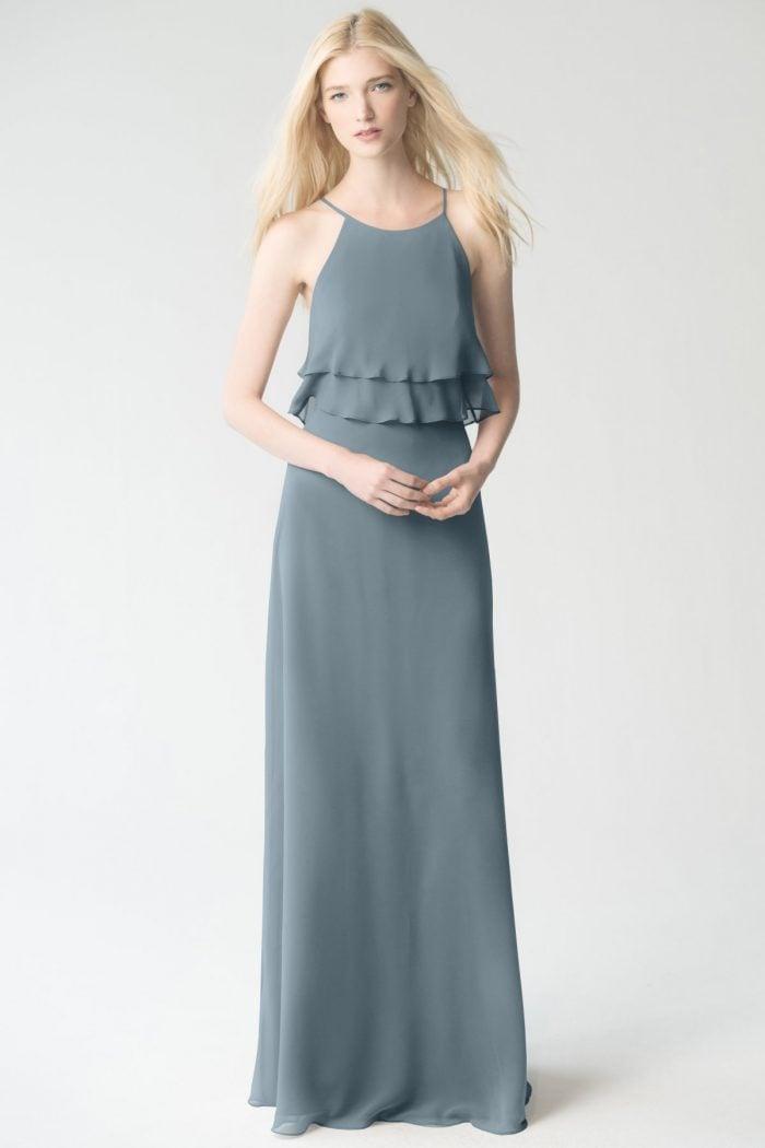 Charlie Bridesmaids Dress by Jenny Yoo - Mayan Blue