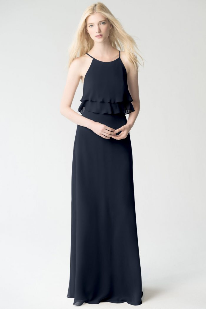 Charlie Bridesmaids Dress by Jenny Yoo - Navy
