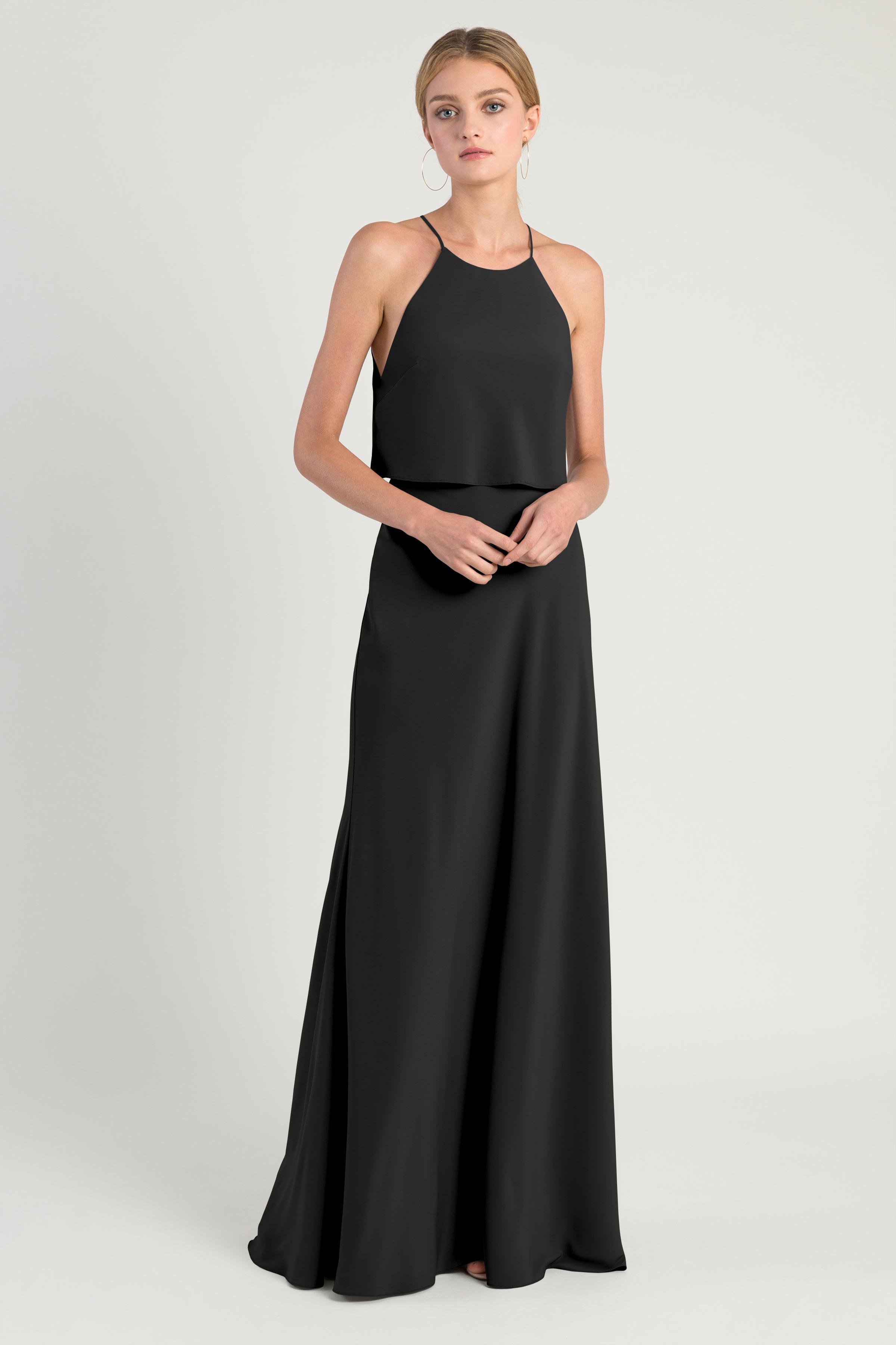 Elle Bridesmaids Dress by Jenny Yoo - Black