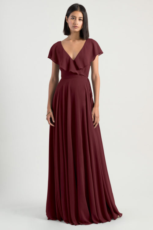 Faye Bridesmaids Dress by Jenny Yoo - Hibiscus