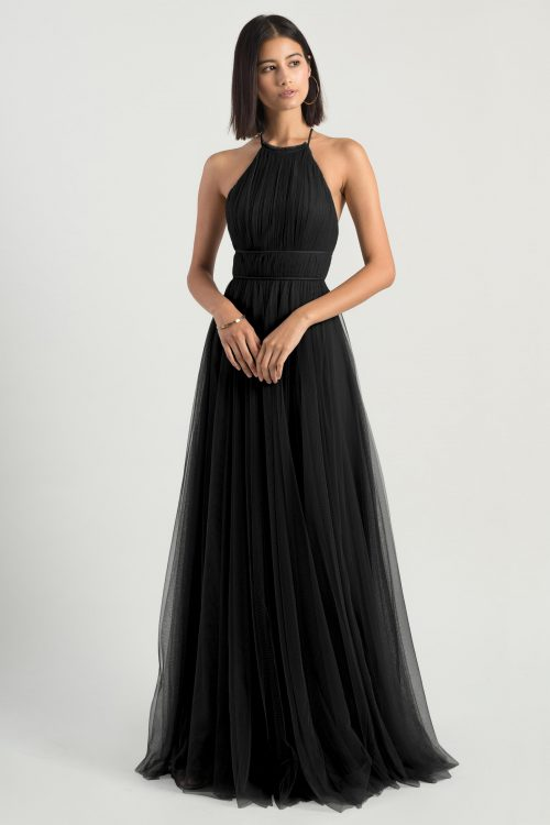 Helena Bridesmaids Dress by Jenny Yoo - Onyx