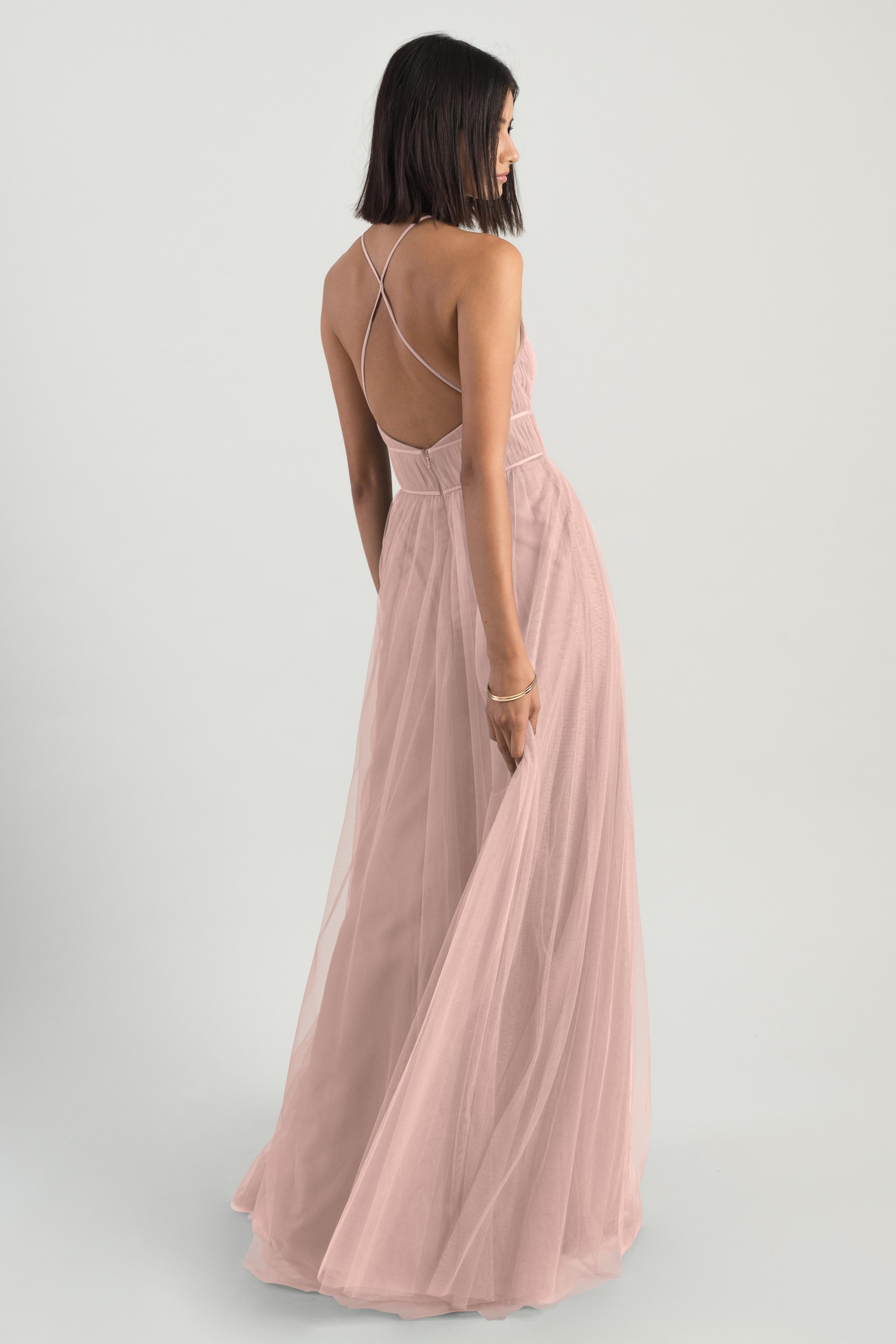 Helena Bridesmaids Dress by Jenny Yoo - Whipped Apricot