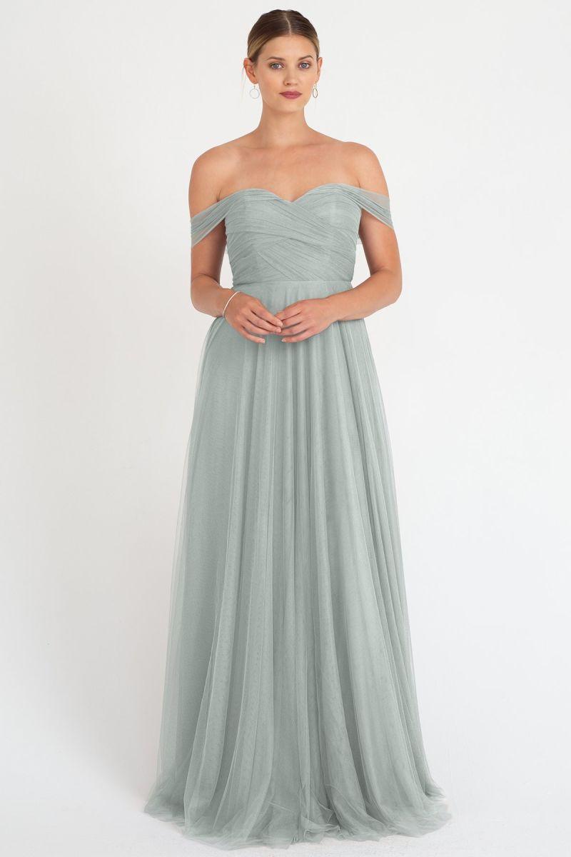 Julia Bridesmaids Dress by Jenny Yoo - Morning Mist