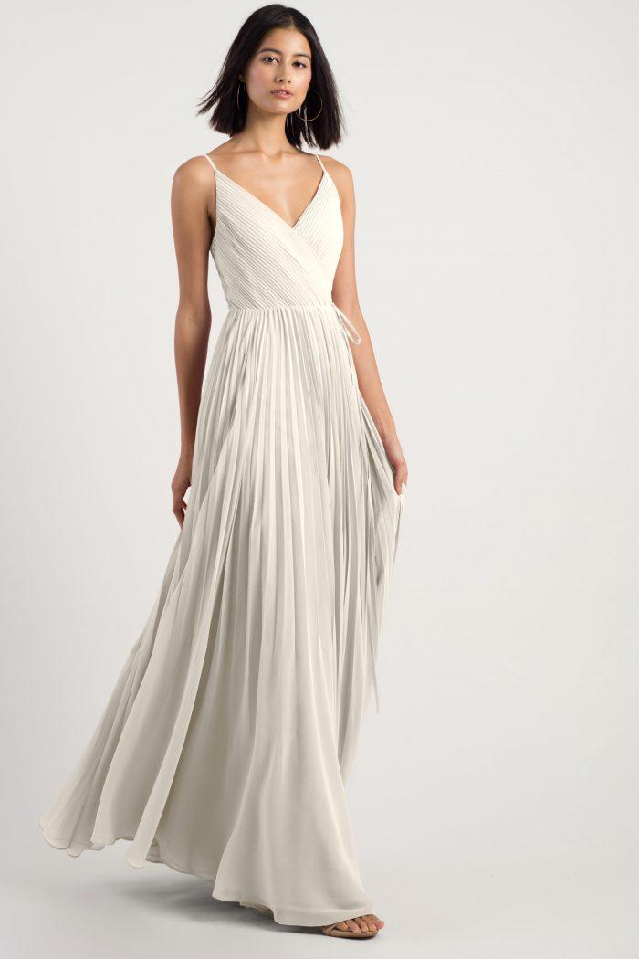 Kimi Bridesmaids Dress by Jenny Yoo - Winter White