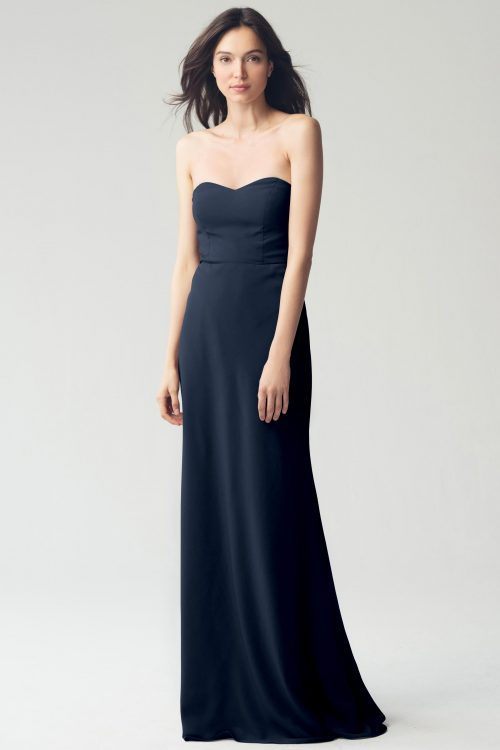 Kylie Bridesmaids Dress by Jenny Yoo - Navy