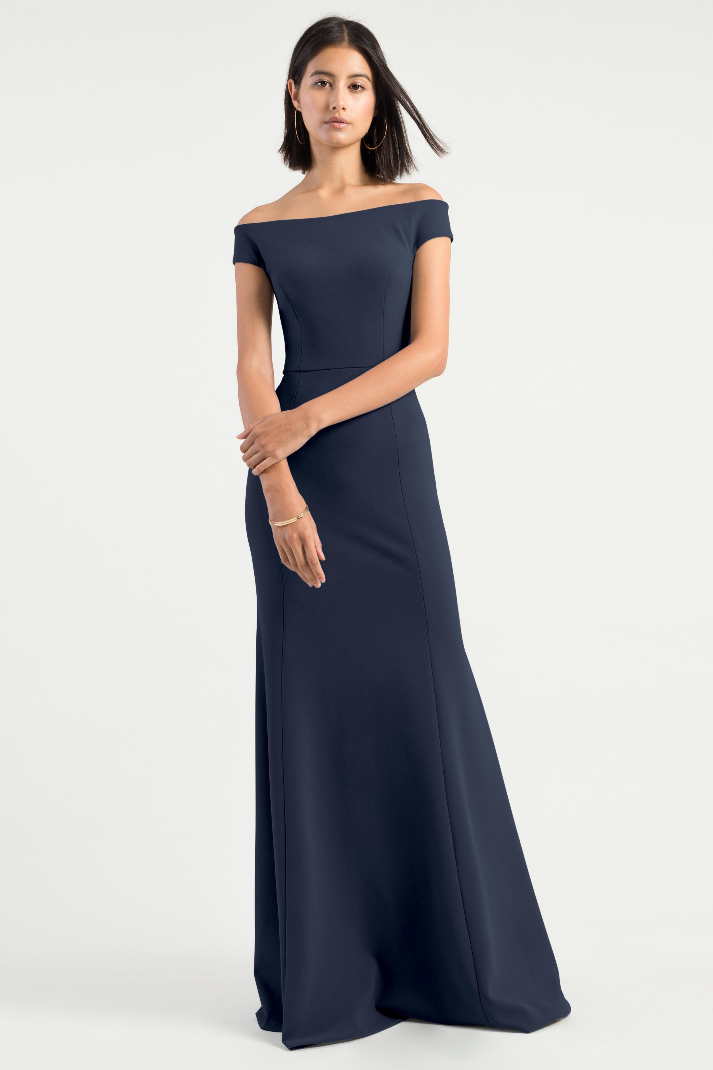 Larson Bridesmaids Dress by Jenny Yoo - Midnight