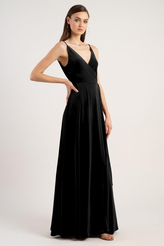 Andi Bridesmaids Dress by Jenny Yoo - Black