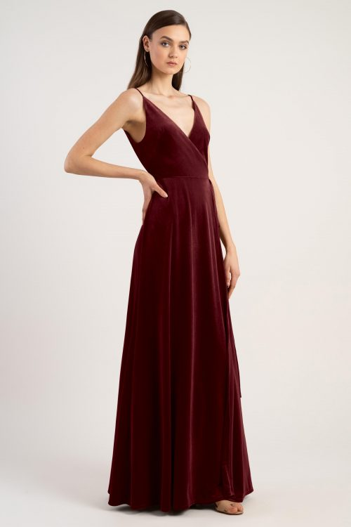 Andi Bridesmaids Dress by Jenny Yoo - Dark Berry