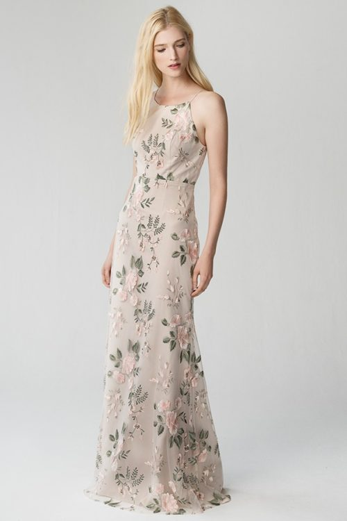 Claire Bridesmaids Dress by Jenny Yoo - Blush Sand Dune