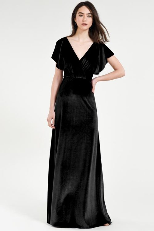 Ellis Bridesmaids Dress by Jenny Yoo - Black