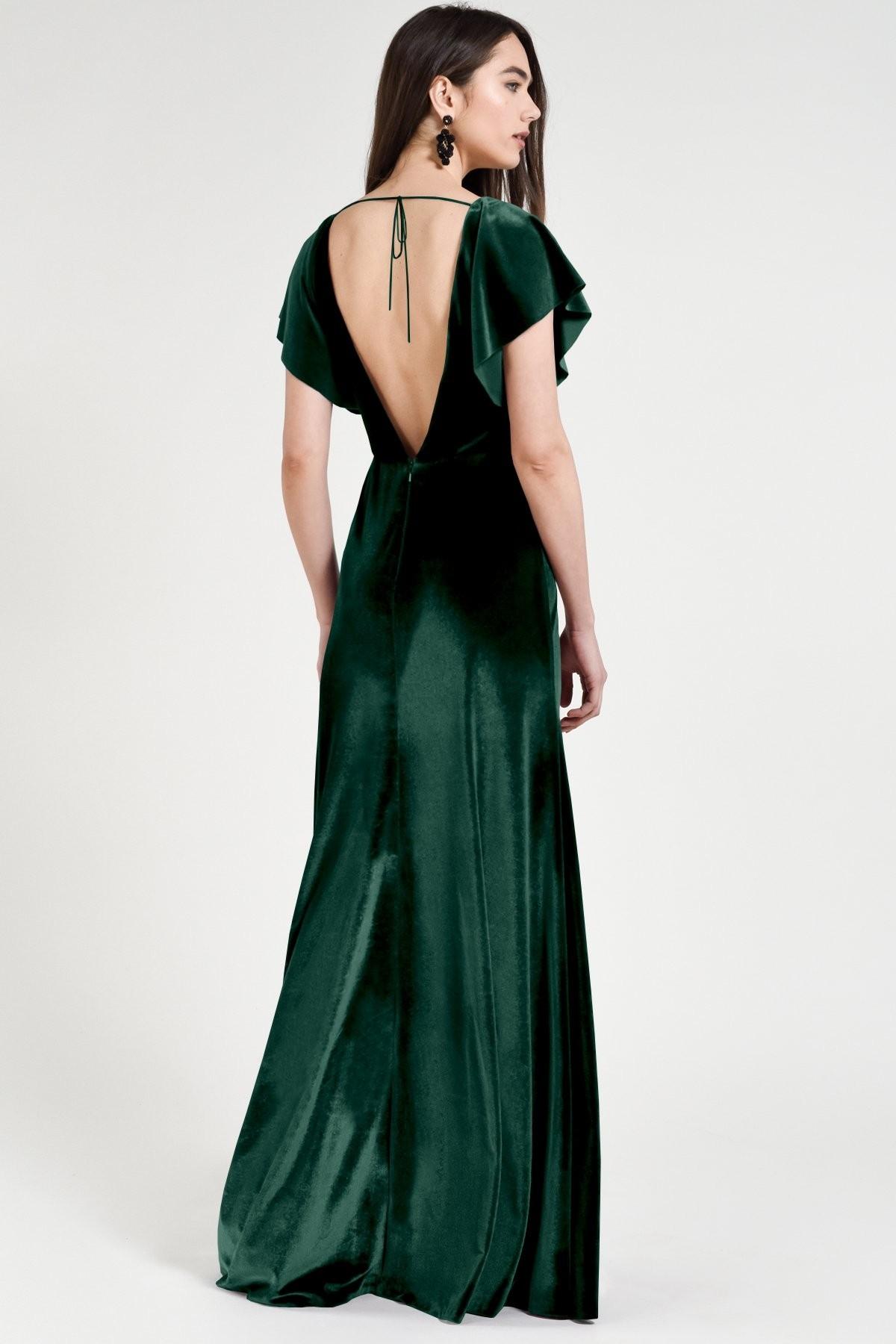 Ellis Bridesmaids Dress by Jenny Yoo - Emerald
