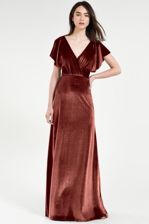 Ellis Bridesmaids Dress by Jenny Yoo - English Rose