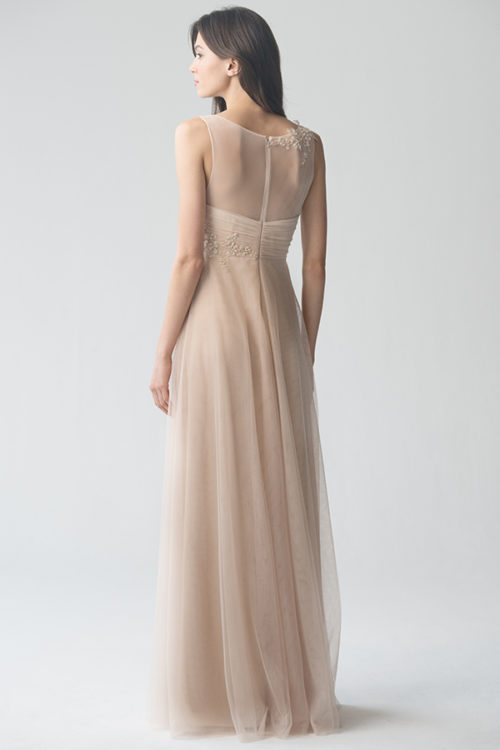 Emelie Appliqué Bridesmaids Dress by Jenny Yoo - Cashmere