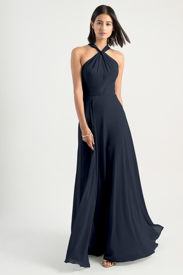 Halle Bridesmaids Dress by Jenny Yoo - Navy
