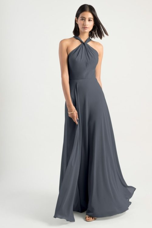 Halle Bridesmaids Dress by Jenny Yoo - Storm