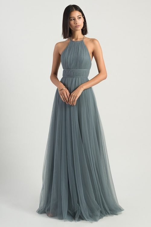 Helena Bridesmaids Dress by Jenny Yoo - Mayan Blue