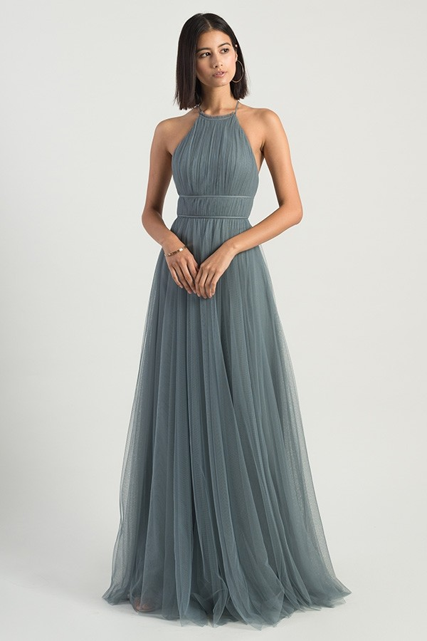Helena Bridesmaids Dress by Jenny Yoo - Mayan Blue