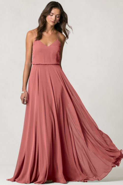 Inesse Bridesmaids Dress by Jenny Yoo - Dusty Rose