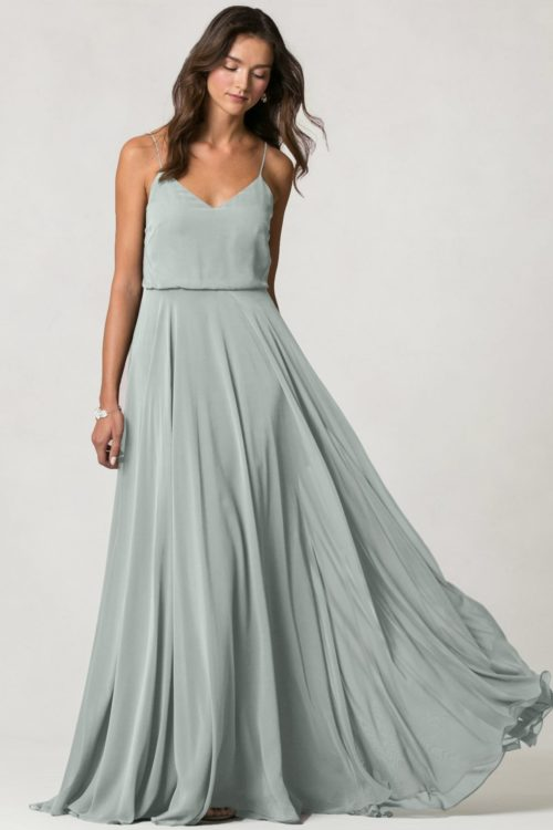 Inesse Bridesmaids Dress by Jenny Yoo - Morning Mist