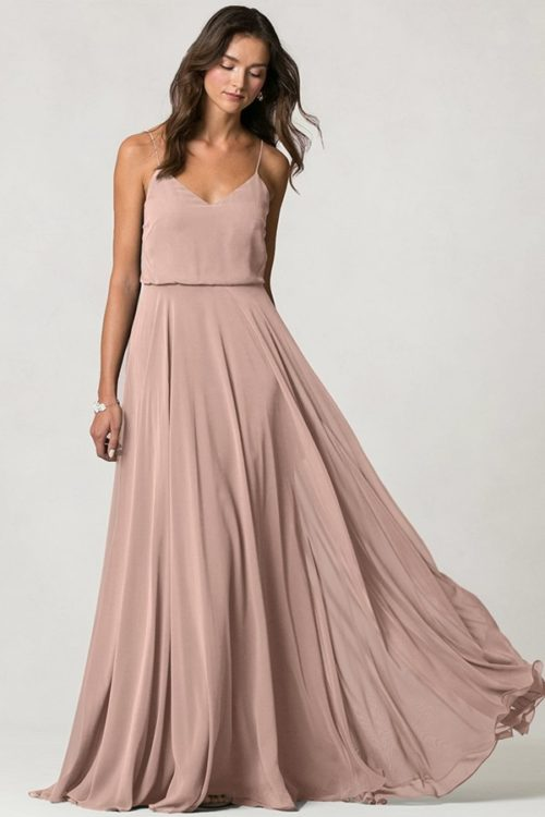 Inesse Bridesmaids Dress by Jenny Yoo - Whipped Apricot
