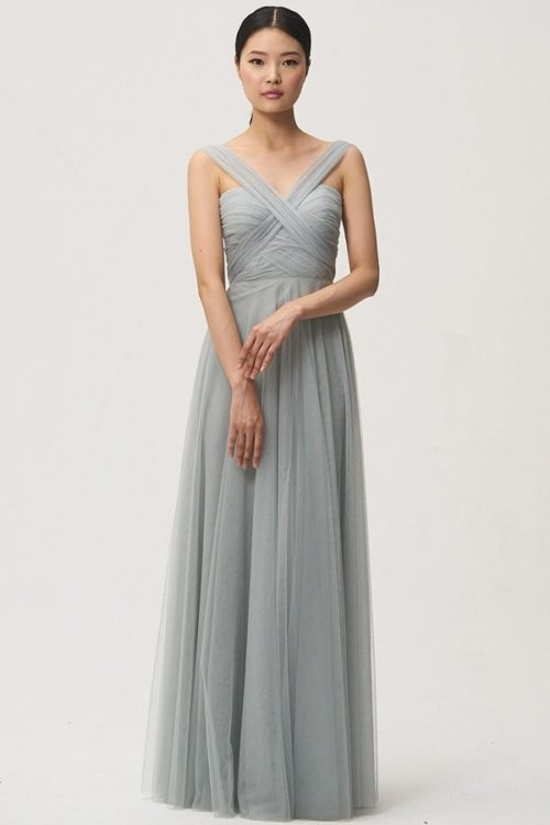 Julia Bridesmaids Dress by Jenny Yoo - Morning Mist