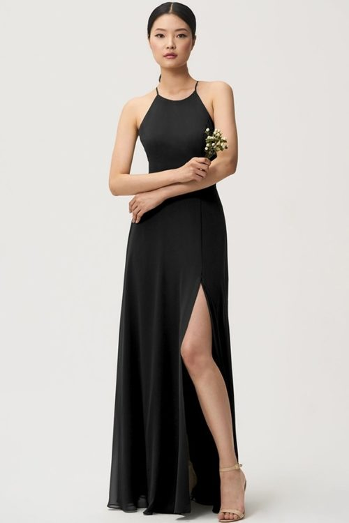 Kayla Bridesmaids Dress by Jenny Yoo - Black