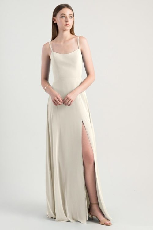 Kiara Bridesmaids Dress by Jenny Yoo - Winter White