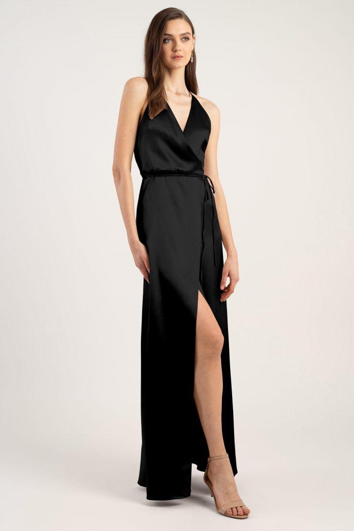 Lana Bridesmaids Dress by Jenny Yoo - Black