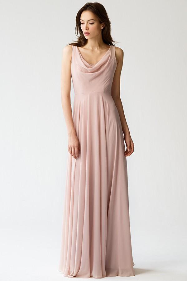 Liana Bridesmaids Dress by Jenny Yoo - Desert Rose