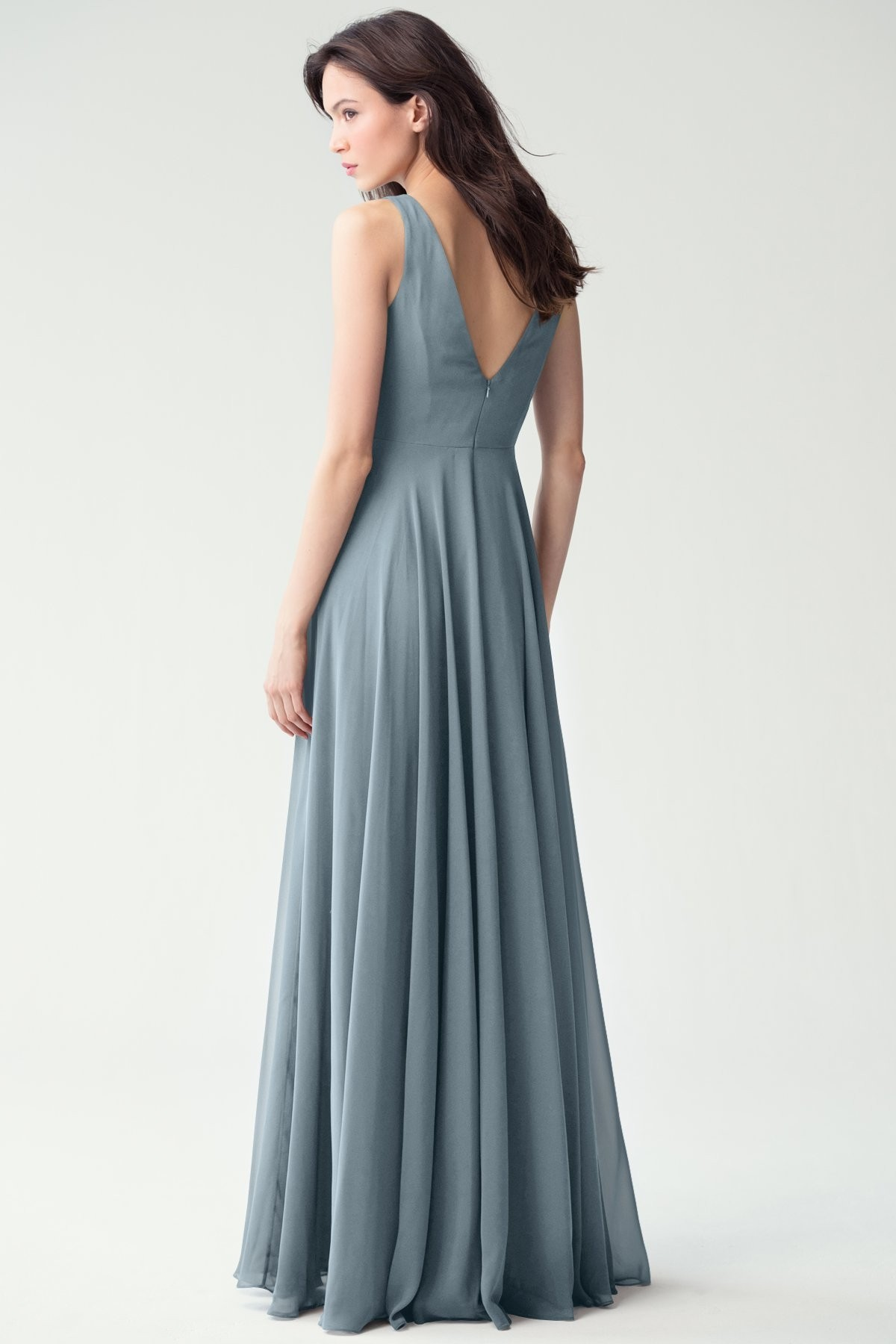 Liana Bridesmaids Dress by Jenny Yoo - Mayan Blue