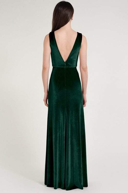 Logan Bridesmaids Dress by Jenny Yoo - Emerald