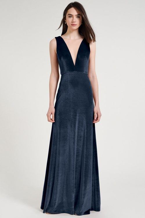 Logan Bridesmaids Dress by Jenny Yoo - French Blue