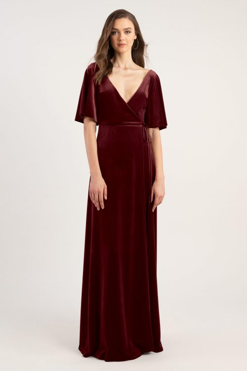 Marin Bridesmaids Dress by Jenny Yoo - Dark Berry