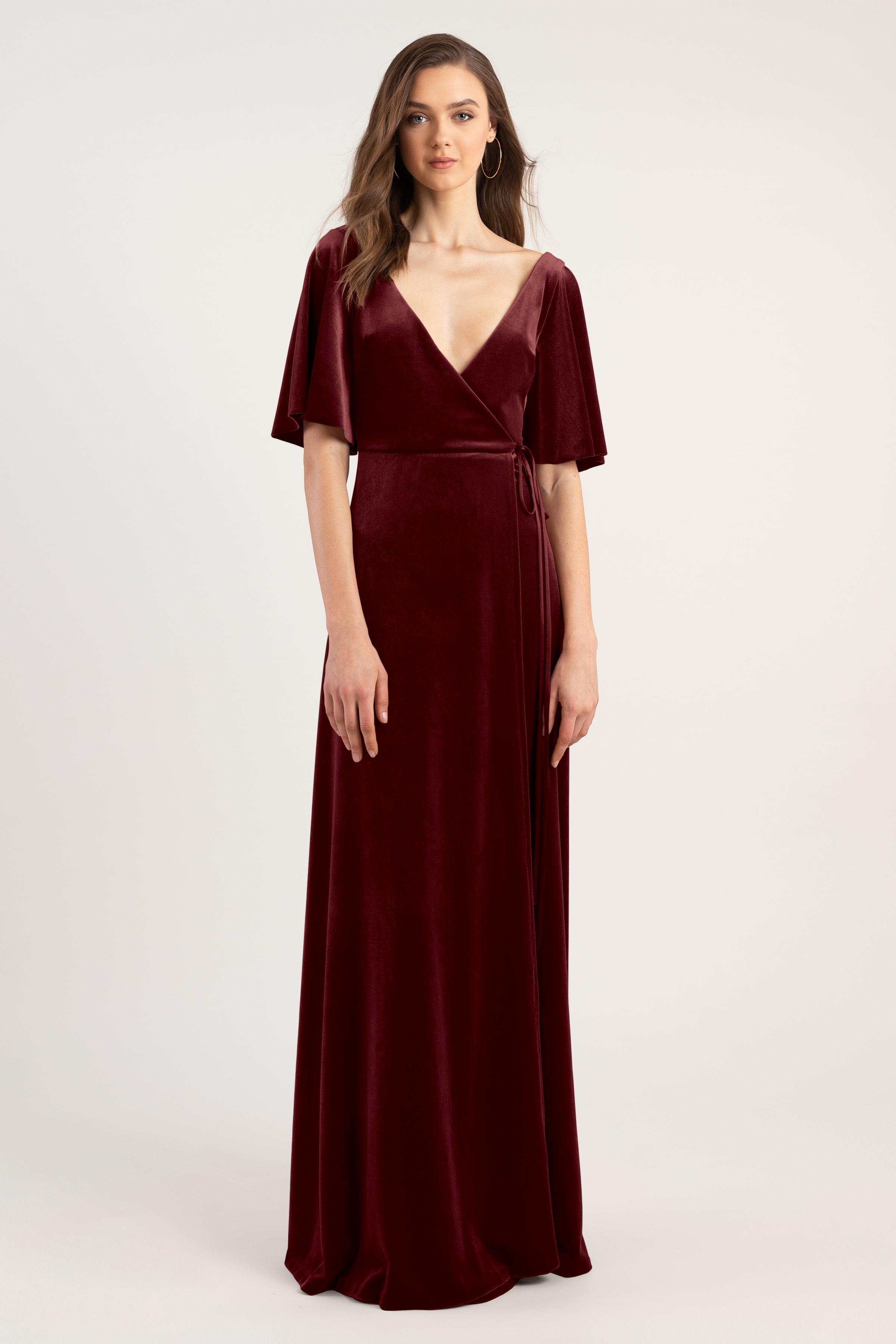 Marin Bridesmaids Dress by Jenny Yoo - Dark Berry