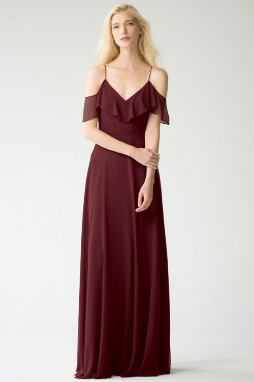Milana Bridesmaids Dress by Jenny Yoo - Hibiscus
