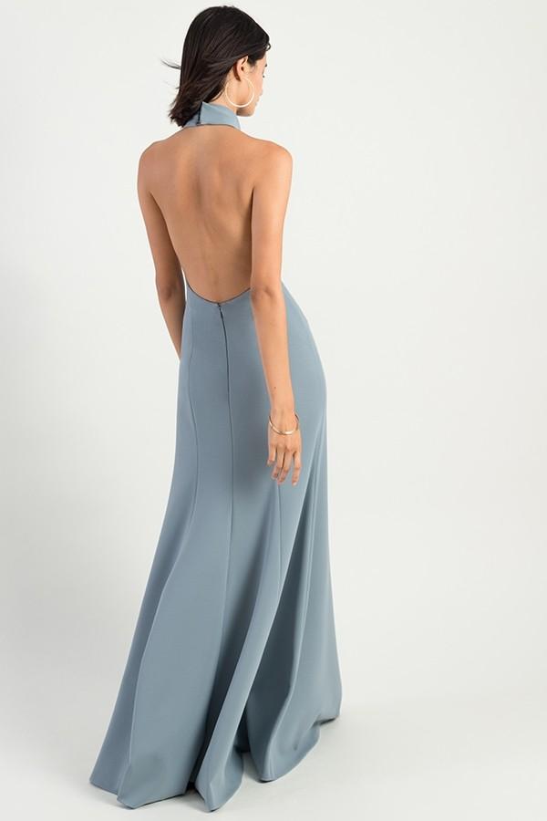 Petra Bridesmaids Dress by Jenny Yoo - Mayan Blue