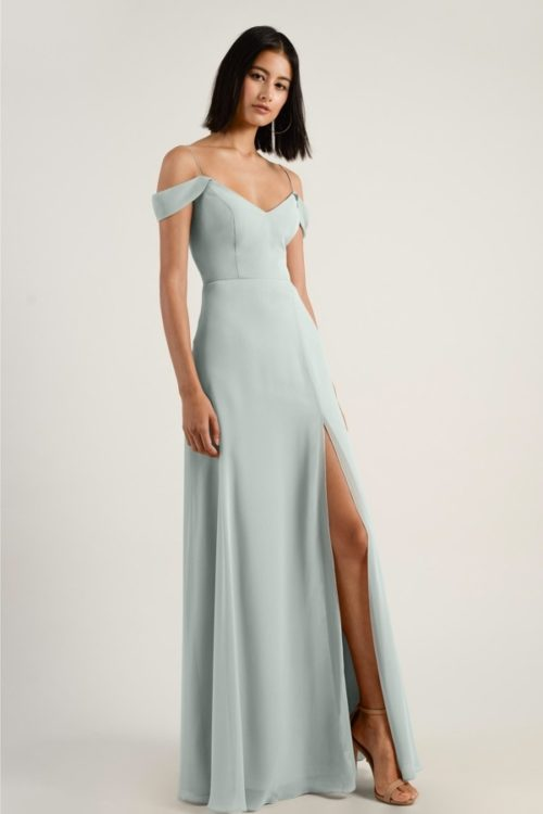 Priya Bridesmaids Dress by Jenny Yoo - Morning Mist
