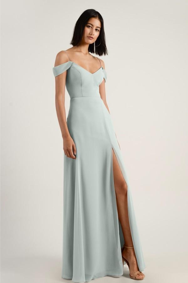 Priya Bridesmaids Dress by Jenny Yoo - Morning Mist