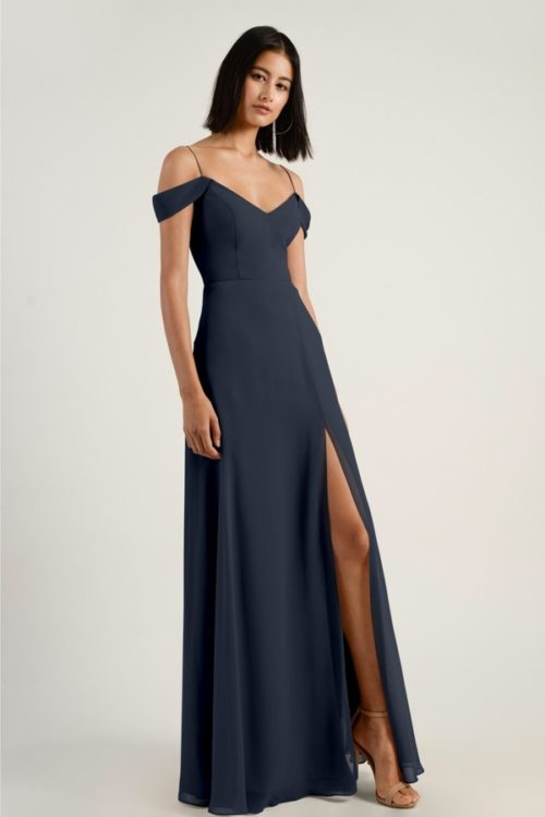 Priya Bridesmaids Dress by Jenny Yoo - Navy