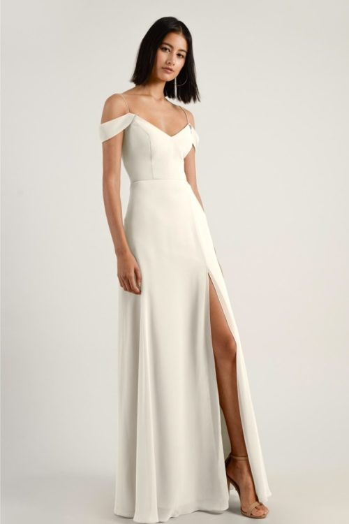 Priya Bridesmaids Dress by Jenny Yoo - Winter White